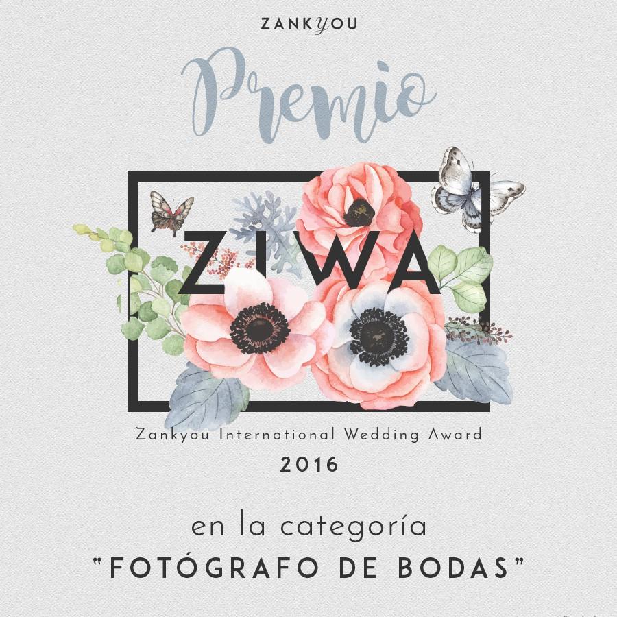 ZIWA - PREMIO MEJOR FOTOGRAFO DE BODAS PAQUI RODRIGUEZ FOTOGRAFIA