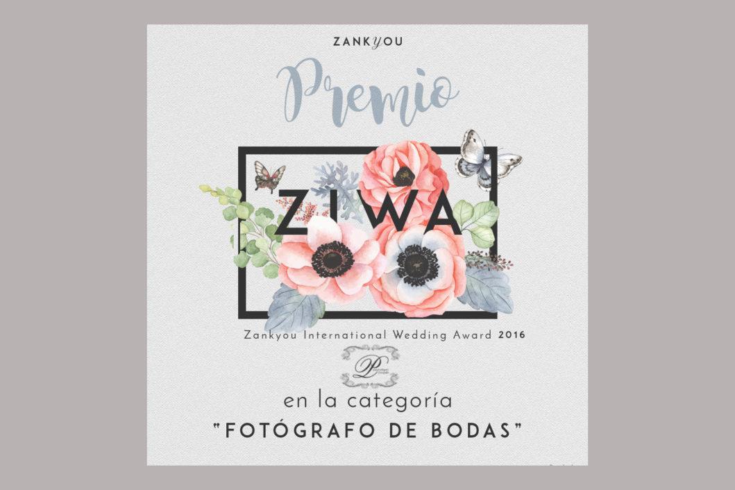 ziwa-premio mejor fotografo de bodas 2016